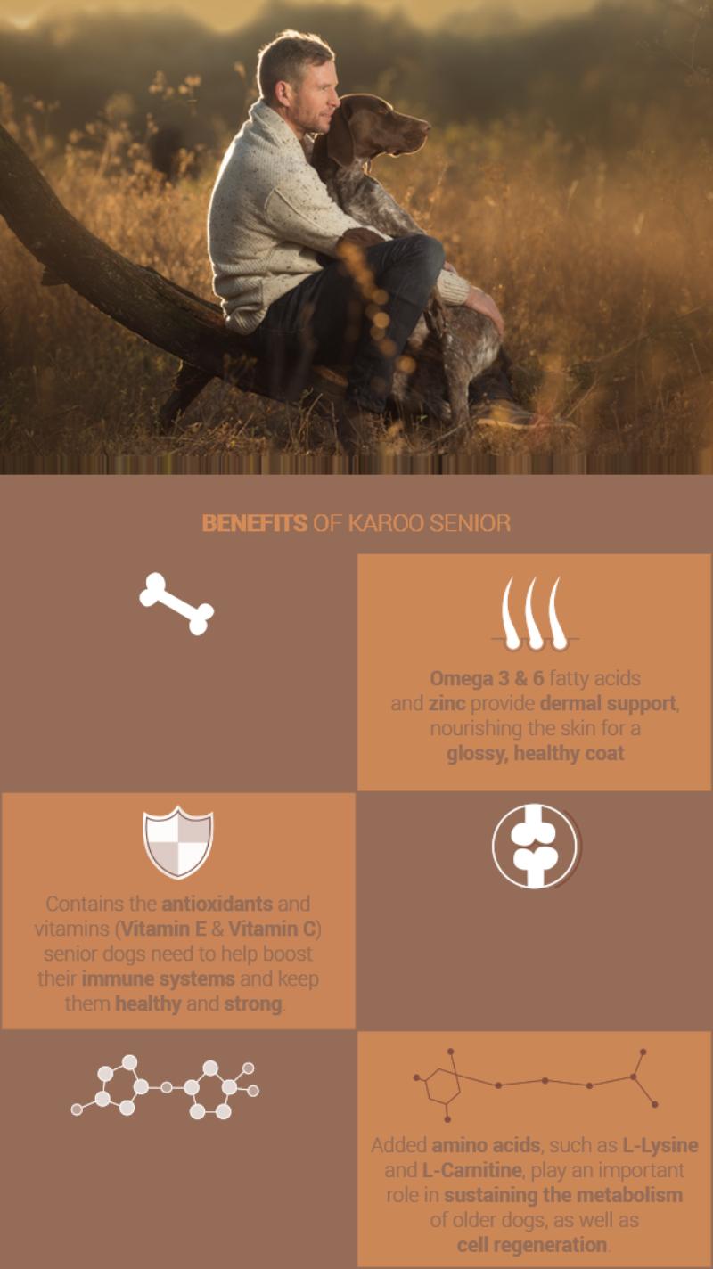 Benefits of Karoo Adult and Senior